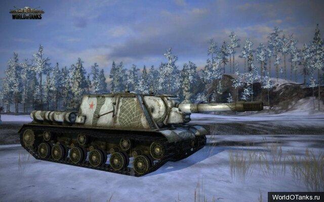 ису-152, камуфляж